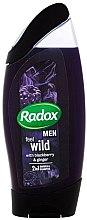 Kup Żel pod prysznic i szampon do włosów dla mężczyzn - Radox Men Feel Wild Blackberry & Ginger 2in1 Shower Gel