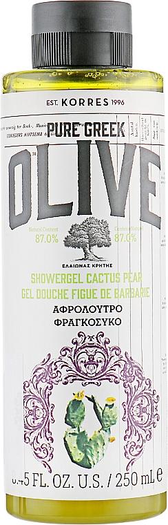 Żel pod prysznic Kaktus i gruszka - Korres Pure Greek Olive Shower Gel Cactus Pear — фото N1