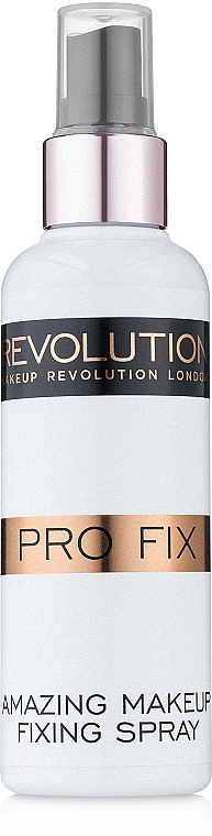 Utrwalacz makijażu - Makeup Revolution Base Fix Super Hold Fixing Spray — фото N3