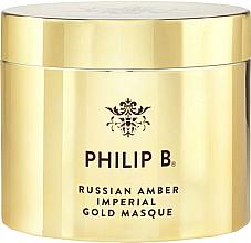 Kup Złota maska do włosów - Philip B Russian Amber Imperial Gold Masque