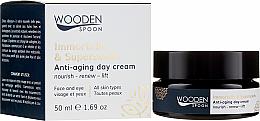 Kup PRZECENA! Przeciwstarzeniowy krem do twarzy na dzień - Wooden Spoon Anti-Aging Day Cream Immortelle & Superseeds *