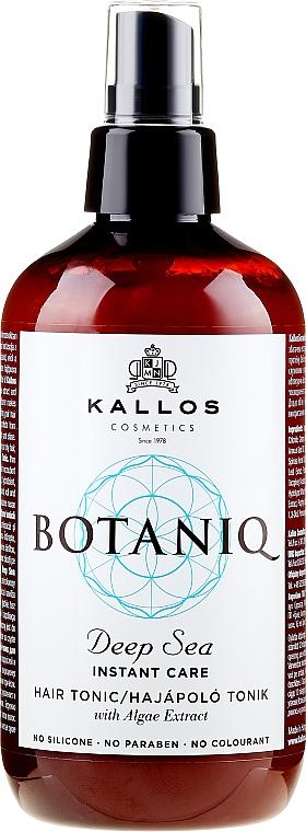 Regenerujący tonik w sprayu do włosów - Kallos Cosmetics Botaniq Deep Sea Instant Care Hair Tonic