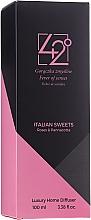 Kup Dyfuzor zapachowy Róża i panna cotta - 42° by Beauty More Italian Sweets Roses & Pannacotta Luxury Home Diffuser