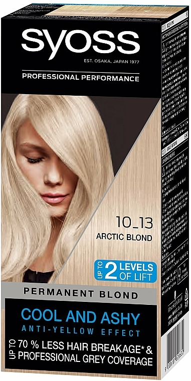 Farba do włosów - Syoss Permanent Coloration