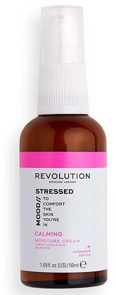 Nawilżający krem do twarzy - Revolution Skincare Stressed Mood Calming Moisturizer Cream — фото N1