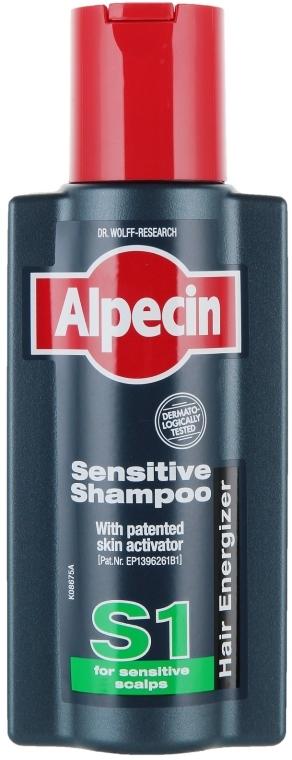 Szampon do wrażliwej skóry głowy - Alpecin S1 Sensitive Shampoo — фото N1