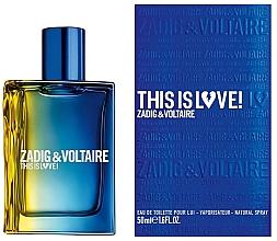 Kup PRZECENA! Zadig & Voltaire This is Love! for Him - Woda toaletowa *