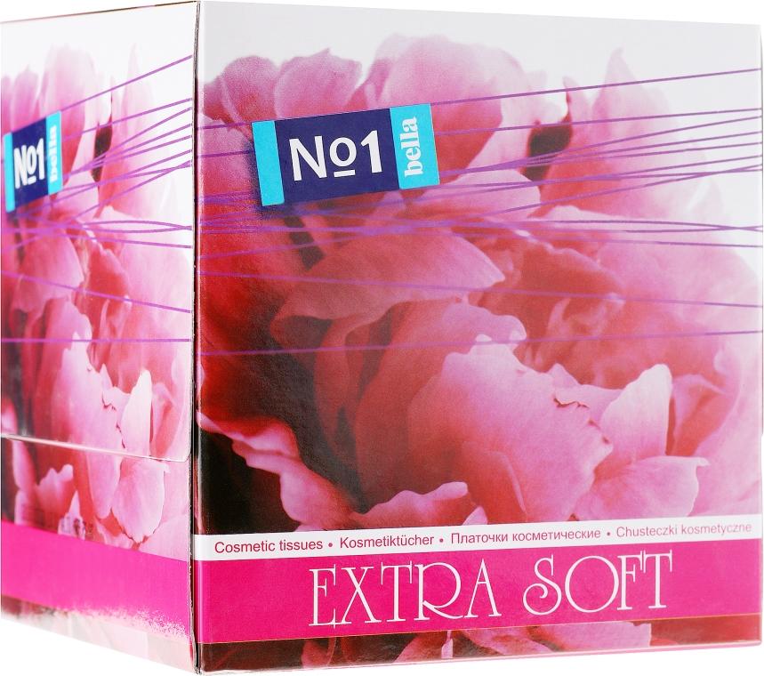 Chusteczki kosmetyczne Extra Soft, dwuwarstwowe, 80 szt. - Bella — фото N1