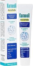Kup Specjalistyczny żel na problemy skórne z jonami srebra i karnozyną - Deep Pharma Karnosil Acnohelp
