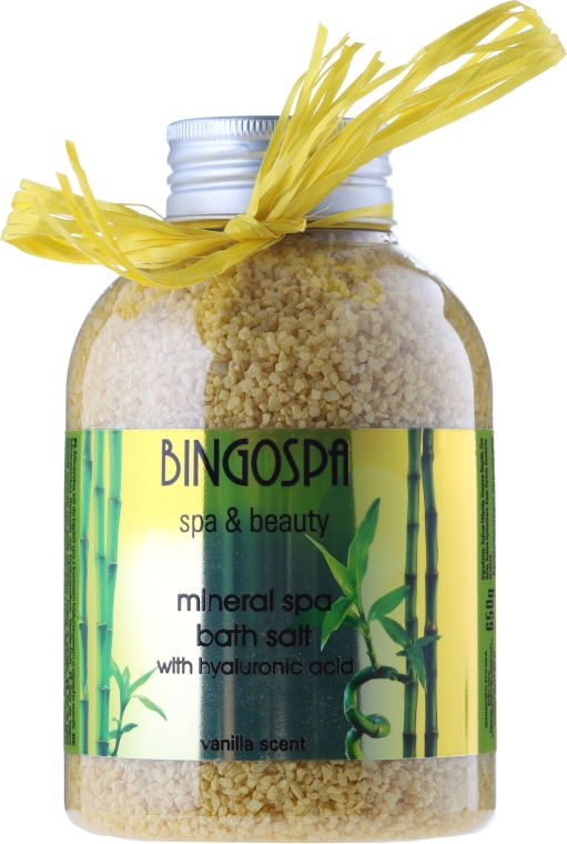 Sól do kąpieli Wanilia - BingoSpa Jacuzzi Bath Salt Vanilla — фото N1