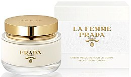 Prada La Femme Prada Velvet Body Cream - Aksamitny krem do ciała — фото N1