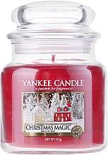 Kup Świeca zapachowa w słoiku - Yankee Candle Christmas Magic