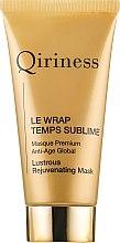 Kup Odmładzająca maska do twarzy - Qiriness Le Wrap Temps Sublime Masque Premium Anti-Age Global