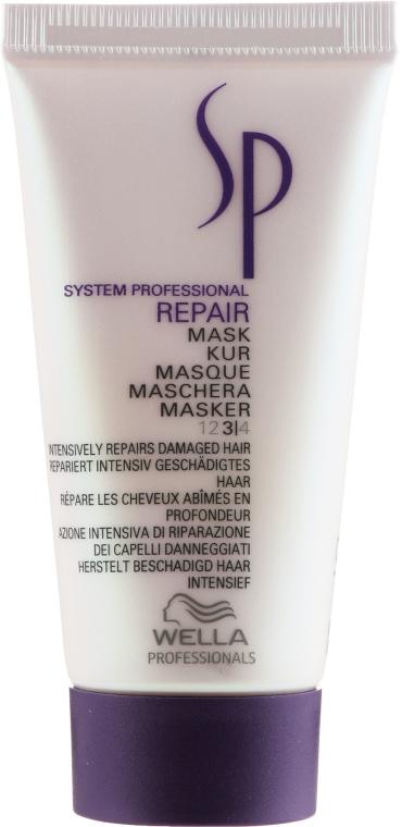 Regenracyjna maska do włosów zniszczonych - Wella SP Repair Mask (miniprodukt) — фото N1