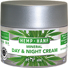 Kup Mineralny krem do twarzy na dzień i na noc z olejem konopnym - Mineral Beauty System Dead Sea Minerals & Cold Pressed Hemp Oil Day And Night Cream