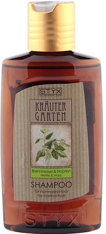 Szampon do włosów normalnych Pokrzywa i chmiel - Styx Naturcosmetic Shampoo Brennnessel & Hopfen — фото N1