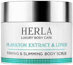 Kup Ujędrniająco-wyszczuplający peeling do ciała - Herla Luxury Body Care Plankton Extract & Lipids Firming & Slimming Body Scrub