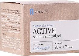 Kup Aktywny krem-żel z kwasem hialuronowym regulujący wydzielanie sebum - Phenome Sustainable Science Active Sebum-Control Gel