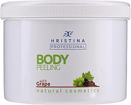 Kup Peeling do ciała z winogronami - Hristina Professional 100% Natural Grape Body Peeling