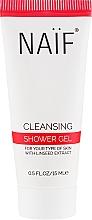 Kup Oczyszczający żel pod prysznic - Naif Cleansing Shower Gel (miniprodukt)