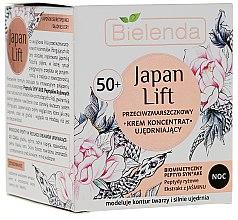 Kup Przeciwzmarszczkowy krem-koncentrat ujędrniający na noc 50+ - Bielenda Japan Lift