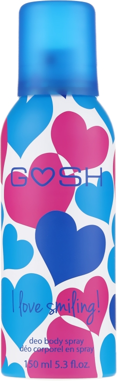 Dezodorant w sprayu - Gosh I Love Smiling Deo Body Spray