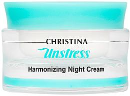 Kup PRZECENA! Normalizujący krem do twarzy na noc - Christina Unstress Harmonizing Night Cream *