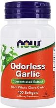 Kup Bezzapachowy ekstrakt z czosnku w kapsułkach - Now Foods Odorlees Garlic Softgels