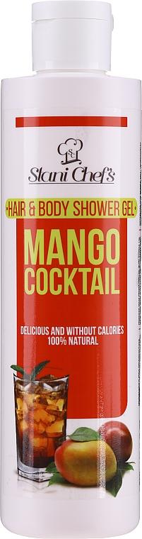 Szampon i żel pod prysznic 2 w 1 Koktajl mango - Stani Chef's Mango Cocktail Hair and Body Shower Gel — фото N1