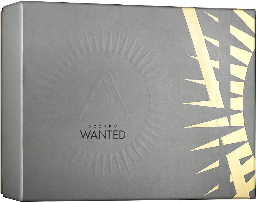 Azzaro Wanted - Zestaw (edt 50 ml + deo 75 ml) — фото N1