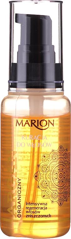 Kuracja z olejem arganowym do włosów - Marion