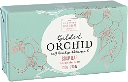 Kup Mydło do ciała Orchidea - Scottish Fine Soap Gilded Orchid Luxury Wrapped Soap