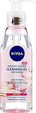 Kup Odżywczy olejek oczyszczający do twarzy i oczu z naturalnym olejem makadamia do skóry suchej - Nivea Nourishing Cleansing Oil Macadamia