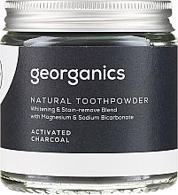 Naturalny proszek do zębów - Georganics Activated Charcoal Natural Toothpowder — фото N5