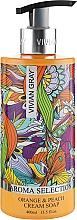 Kup Kremowe mydło w płynie Pomarańcza i brzoskwinia - Vivian Gray Aroma Selection Orange & Peach Cream Soap