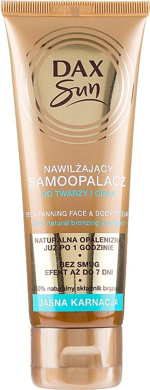 Samoopalacz do jasnej karnacji - DAX Sun Extra Bronze Self-Tanning Cream