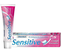 Kup Pasta do wrażliwych zębów - Dental Sensitive Classic Formula