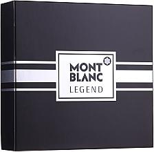 Kup Montblanc Legend - Zestaw (edt 100 ml + ash/balm 100 ml + edt 7,5 ml)