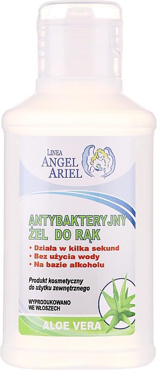 Antybakteryjny żel do rąk z ekstraktem z aloesu - Linea Angel Ariel Antibacterial Hand Gel Aloe Vera
