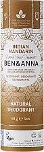 Kup Dezodorant na bazie sody w sztyfcie Indyjska mandarynka (tubka) - Ben & Anna Natural Soda Deodorant Paper Tube Indian Mandarine