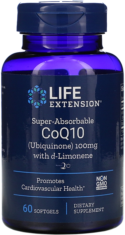 Koenzym Q10 w żelowych kapsułkach - Life Extension CoQ10 Ubiquinone — фото N1