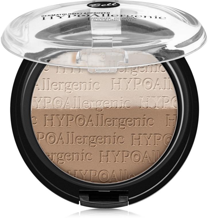 Hipoalergiczny puder brązujący - Bell HYPOAllergenic Bronze Powder