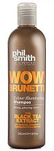 Kup Szampon do włosów z ekstraktem z czarnej herbaty - Phil Smith Be Gorgeous Wow Brunette Colour Illuminating Shampoo