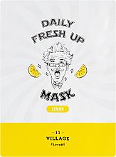 Kup Odświeżająca maseczka w płachcie do twarzy z ekstraktem z cytryny - Village 11 Factory Daily Fresh Up Mask Lemon