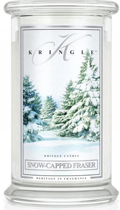 Świeca zapachowa - Kringle Candle Snow Capped Fraser — фото N2