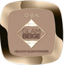 Kup Puder do twarzy - L'Oreal Paris Glam Beige Healthy Glow Powder