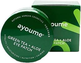 Kup Płatki pod oczy z zieloną herbatą i ekstraktem z aloesu - Ayoume Green Tea + Aloe Eye Patch
