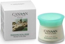 Kup Nawilżający krem do skóry normalnej i suchej - Canaan Minerals & Herbs Nourishing Facial Cream Normal to Dry Skin