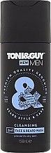 Kup Nawilżający szampon do brody i wąsów - Toni & Guy Men Cleansing 2in1 Face & Beard Wash