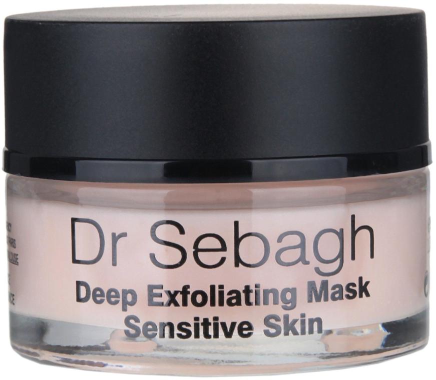 Maska głęboko złuszczająca do skóry wrażliwej - Dr Sebagh Deep Exfoliating Mask — фото N2